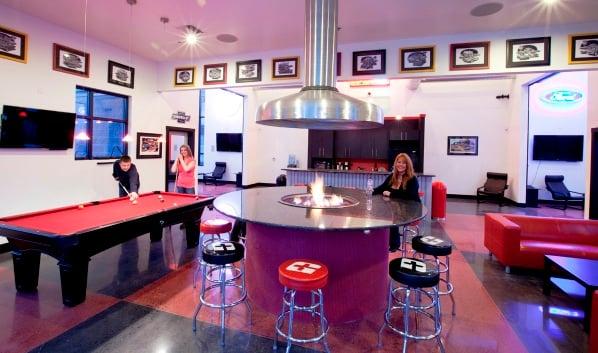 Club House at Upscale RV Storage