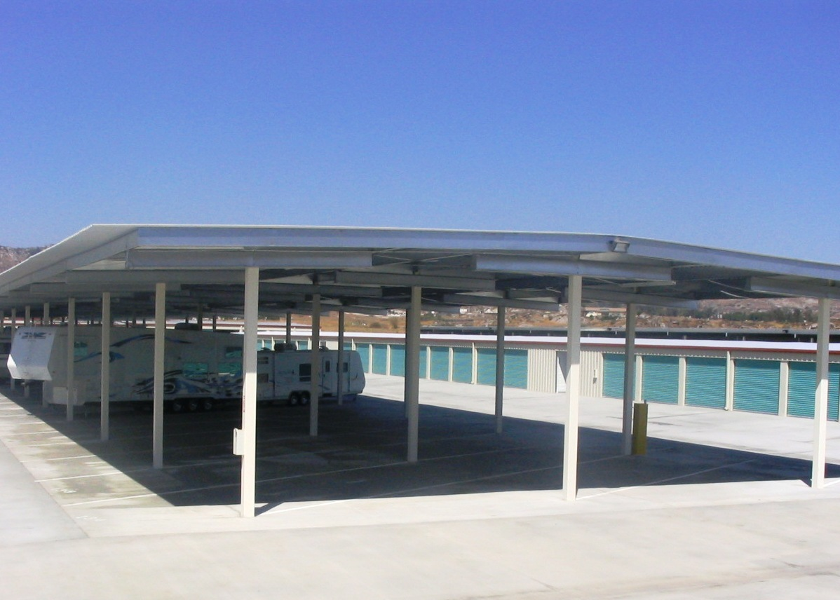 awesome rv storage structures #3: Mako Steel