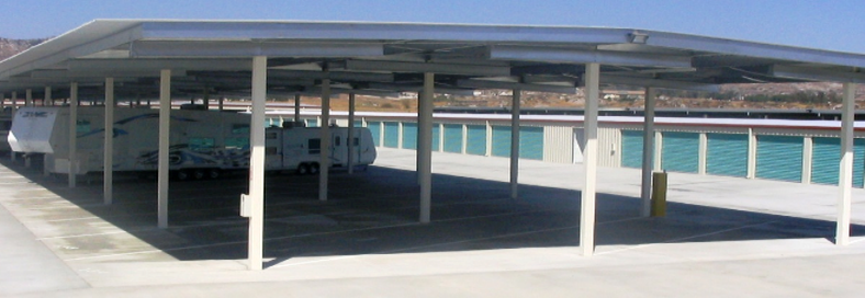 Canopies for Boat and RV Storage