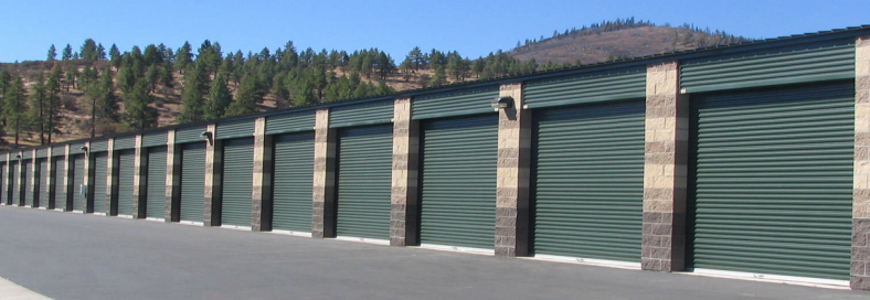 Single stor self storage building