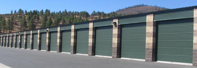 Single Stor Self Storage Building