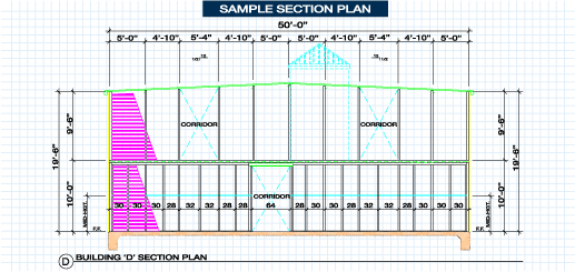 sample section plan