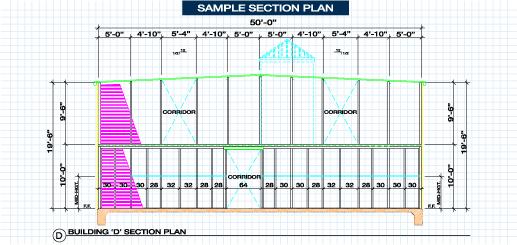 sample section plan