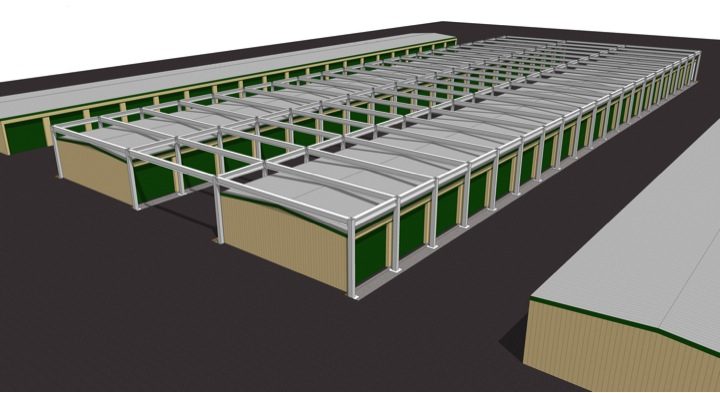 Double-Up Self Storage Building Expansion