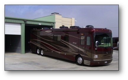 Enclosed Boat and RV Storage