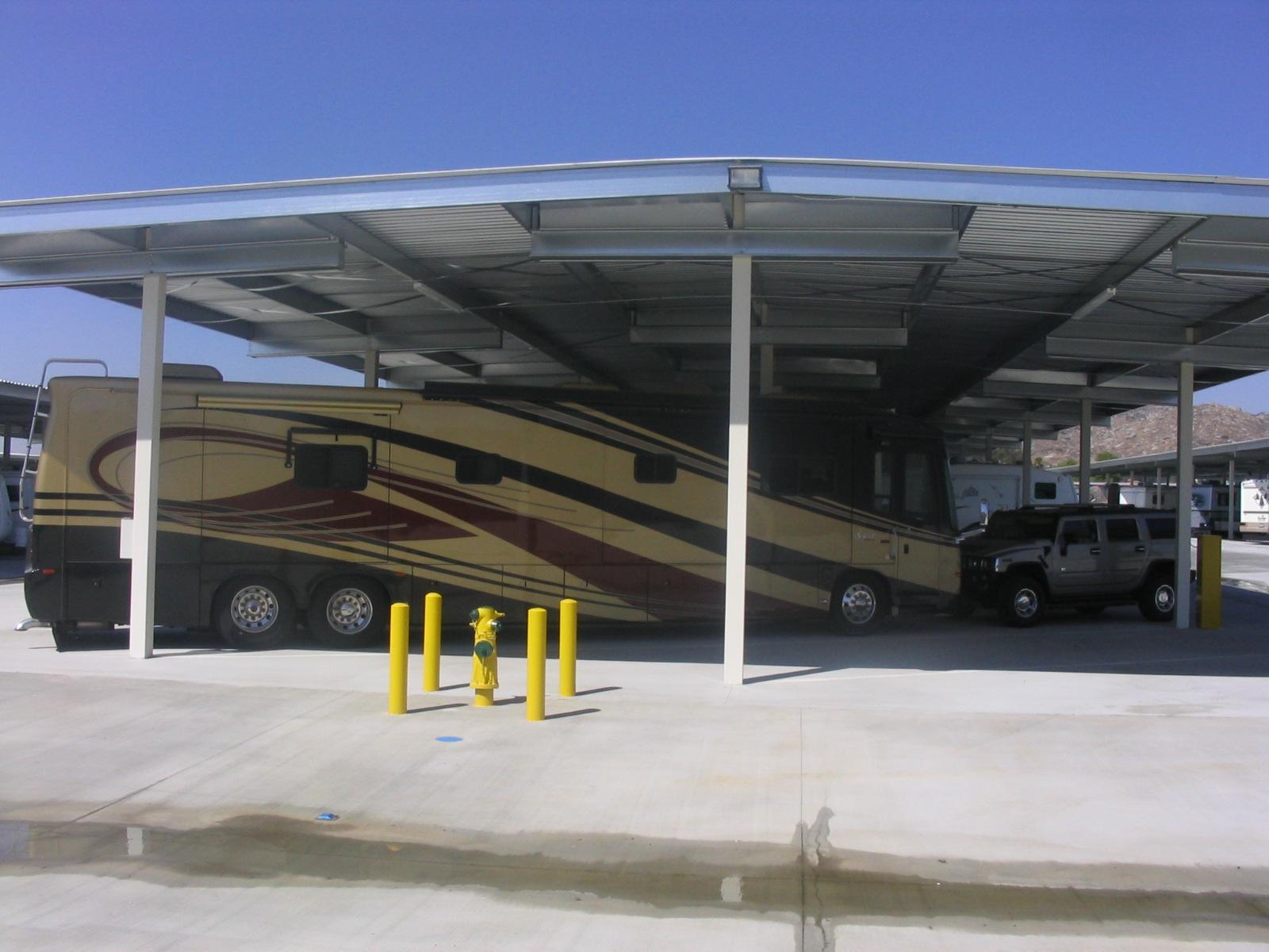 Storage Canopies Mako Steel Inc