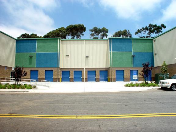 Self Storage Building by Mako Steel