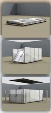 Mini Mobile Storage Assembly