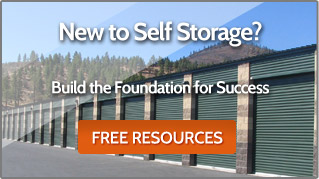 New to Self Storage Business