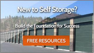 New to Self Storage Business