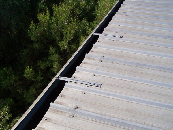 Screw Down Roofing