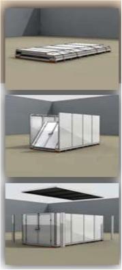 Portable storage construction
